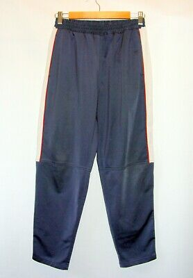 age 13-14 XXL 164cm boys Lotto tracksuit bottoms trousers tapered leg dark grey