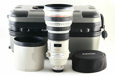[B- Good] Canon EF 400mm f/2.8 L IS USM AF Lens w/ Trunk, Hood From JAPAN 5651