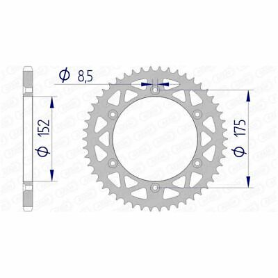 47001385 - Couronne AFAM 48 dents alu pas 520 type 13508N Yamaha