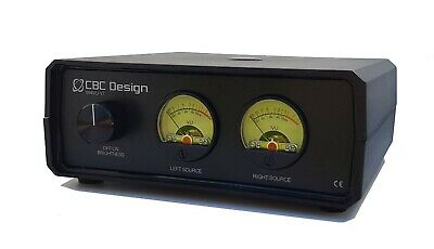 Analogue VU Meters (Enclosed) with Automatic Standby Feature