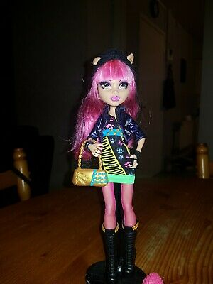 Monster High Howleen Wolf 13 Wishes with pet (m11)