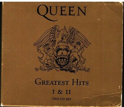 Queen ‎– Greatest Hits I & II / 2 CD VG 1994 Italy Rare
