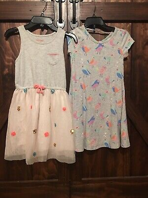 Jumping Beans Girls Size 7, Cat And Jack Size 7-8, Both Cute- Sold Together