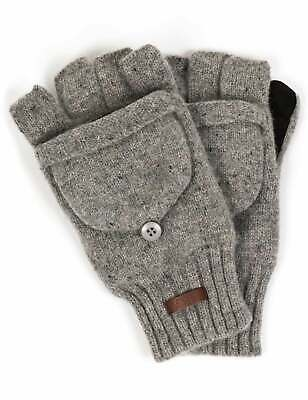 Barts Haakon Bumgloves - Grey Heather