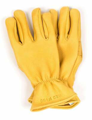 Red Wing 95233 Buckskin Unlined Gloves - Yellow