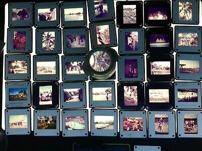 Vintage Australian Slides 35mm Agfacolor Kodak Type  Lots of 100 RANDOM Mixed