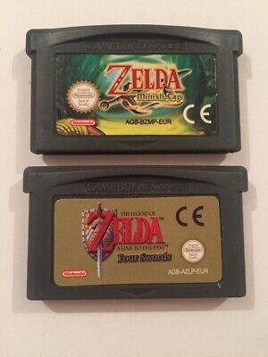 The Legend Of Zelda Minish Cap And A Link To The Past Gba Gameboy Advance