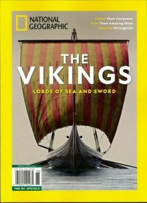 National Geographic Special Magazine The Vikings Lords of Sea and Sword