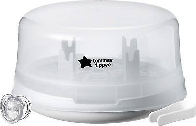 Tommee Tippee Closer to Nature Microwave Steam Steriliser, White - 423610
