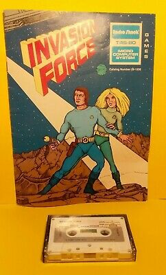 INVASION FORCE for TRS-80  Computer