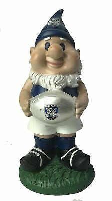 Canterbury Bulldogs NRL Solar Powered Light-up Ball Design Gnome