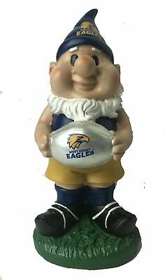 West Coast Eagles AFL Solar Powered Light-up Ball Design Gnome