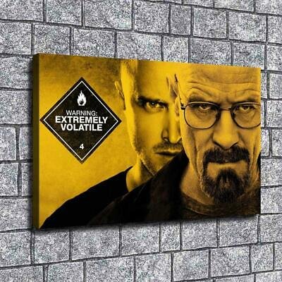 """12""""x18""""Breaking Bad Paintings HD Print on Canvas Home Decor Room Wall Art Poster"""