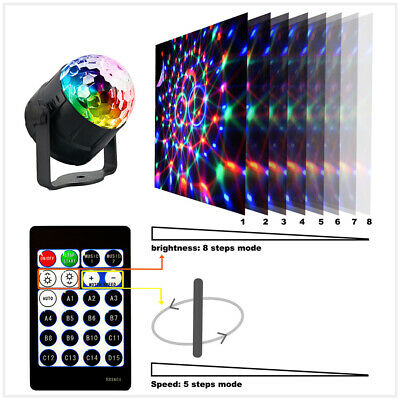 LED RGB Stage Light Disco Party DJ KTV Outdoor Garden Lamp Projector 15 patterns