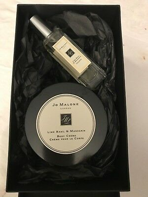 Jo Malone Lime Basil and Mandarin 2 piece Fragrance and Body Creme Gift Set