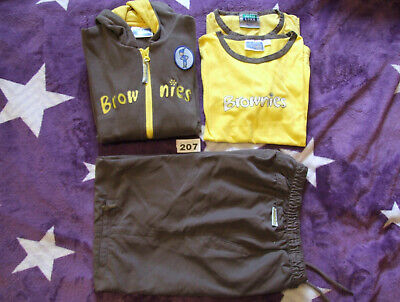 "3 Piece Brownie Uniform + Free T Shirt - 34"" Chest"