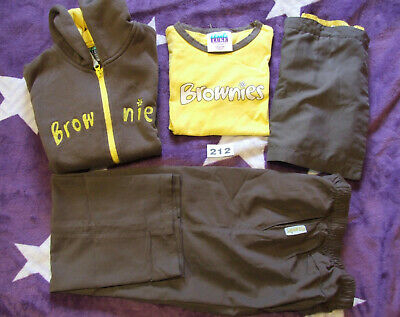 "Brownie Uniform x 4 items - 30"" Chest"