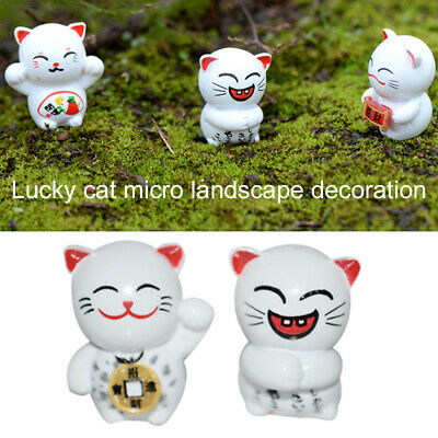 E970 Emulation Mini Ornament 6PCS/Set Miniature Craft Resin Miniature Statues