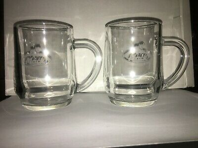 Collectable Mack Bulldog Truck Tapered Glass Beer Mug X 2 available