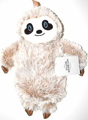 Sloth Hot Water Bottle Primark Cover Plushie Soft Cuddly Warm