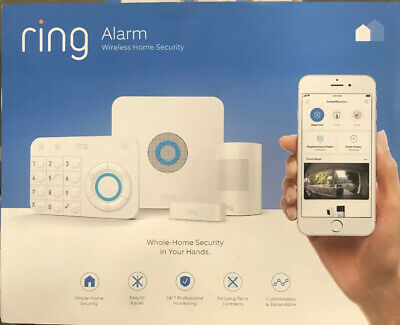 Ring Alarm Home Wireless Security System 5 Piece Starter Kit Simple Affordable