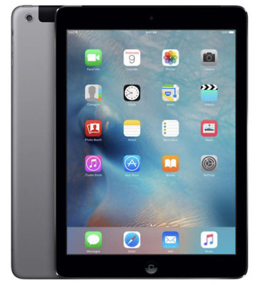  Ipad Air 9,7 Wifi+Cellular 4G 32Gb Space Gray Gris Sidéral A1475 Grade C (137)