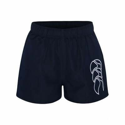 Canterbury Kid's Tactic Rugby Shorts - 6, 8, 10, 12, 14 Years - Navy - New