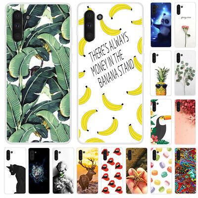 For Samsung Galaxy Note 10+ 9 8 5 3 Painted TPU Soft Silicone Slim Case Cover
