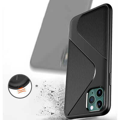 Ultra thin Shockproof Silicone Case For iPhone 11 Pro Max XS XR 8 7 6 Soft Cover