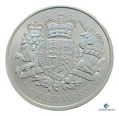 2019 Royal Arms 1 oz silver ounce bullion coin brand new in capsule uncirculated