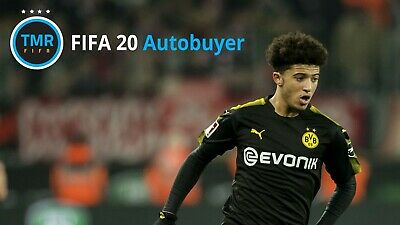 TMR FIFA 20 Autobuyer for Ultimate Team (Make Easy Coins) Xbox One, PS4, PC, Mac