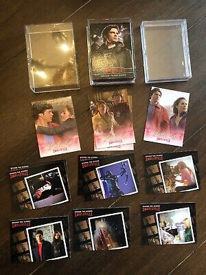 Smallville Collectors Cards The Final Seasons, Clark & Lois, BTS 44 In All