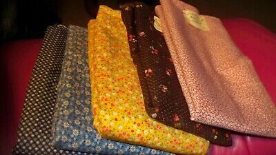 #A - Unbranded Cotton Fabric - Calico Prints - U-PICK 1