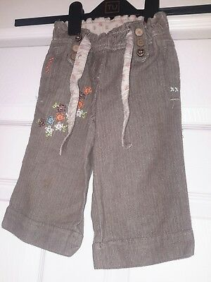 Next  girls trousers aged 2 - 3 year's