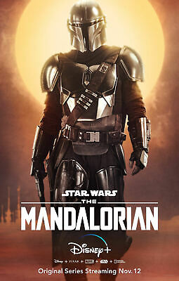 "The Mandalorian ( 11"" x 17"" ) Movie Collector's Poster Print - (T3)  B2G1F"
