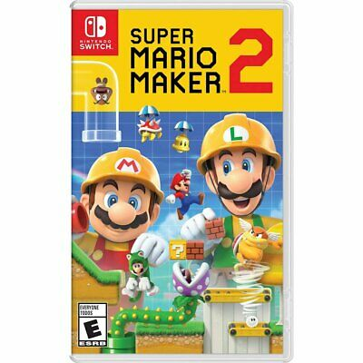 Super Mario Maker 2 -- Standard Edition (Nintendo Switch, 2019)
