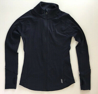 Women's Lorna Jane Active Full Zip Jacket With Pockets Size XS