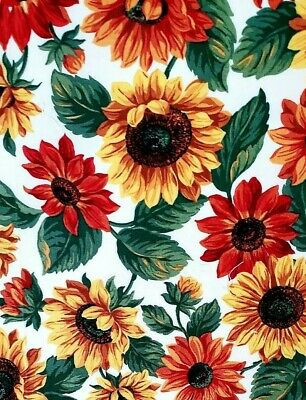 Bright Fall Flowers Crib Or Toddler Bed Fitted Sheet, Handmade, Cotton