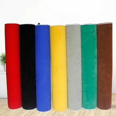 2 Metres Adhesive Sticky Roll Self Back Velvet Felt Fabric Jewelry Wallpaper