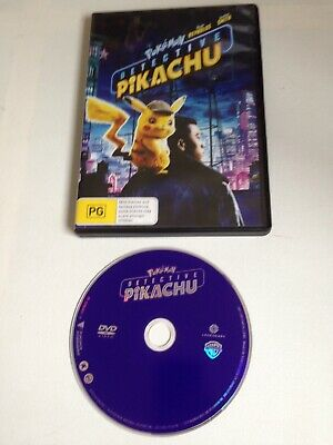 Pokemon Detective Pikachu DVD Ryan Reynolds Justice Smith