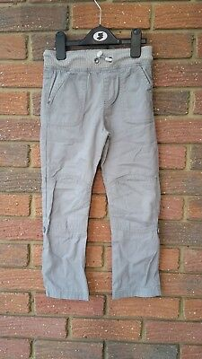 Girls grey F&F long or 3/4 length trousers 6-7 years good condition