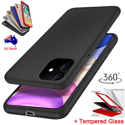 360° Full Body Ultra Thin Shockproof Hybrid Case Cover For iPhone 11 Pro Max