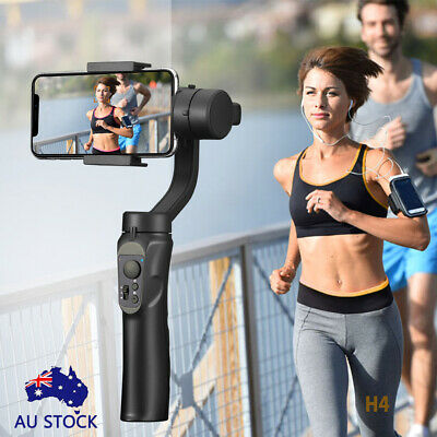 AU Smooth H4 Handheld 3-Axis Mobile-Phone Gimbal Stabilizer for iphone