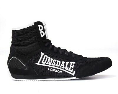 LONSDALE MENS CONTENDER Boxing Boots Mid cut Full Lace Up
