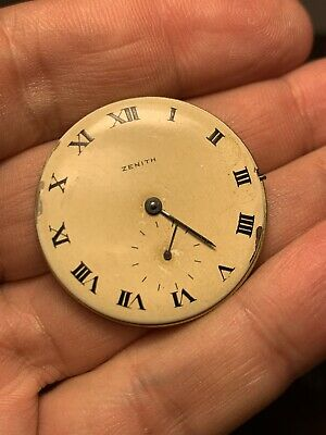 Zenith Movement Cal 126 Not Working For Parts Repair