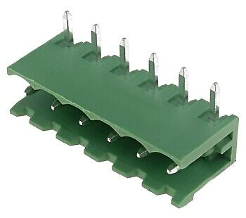 Pluggable terminal block;socket;male;5.08mm;THT;ways:6;15A