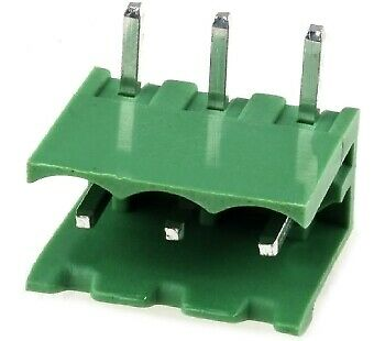 Pluggable terminal block;socket;male;5.08mm;THT;ways:3;15A
