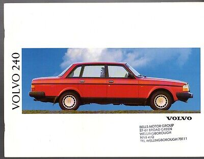 VOLVO 760 GLE TD TP Saloon Estate UK Market Sales Brochure 1990