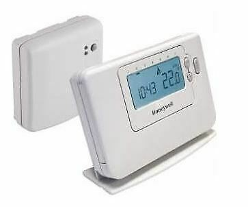 Wireless programmable 7 day thermostat Honeywell