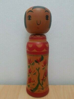 Vintage Japan Made Traditional Kokeshi doll ( 25 cm)